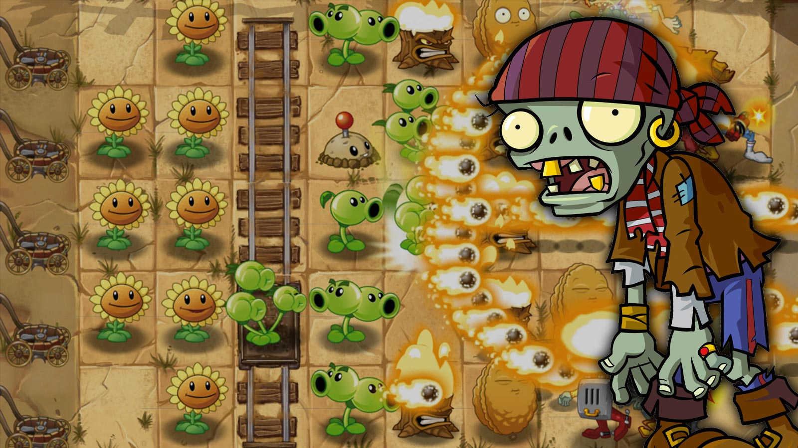Play Plants vs Zombies on PC Screenshot